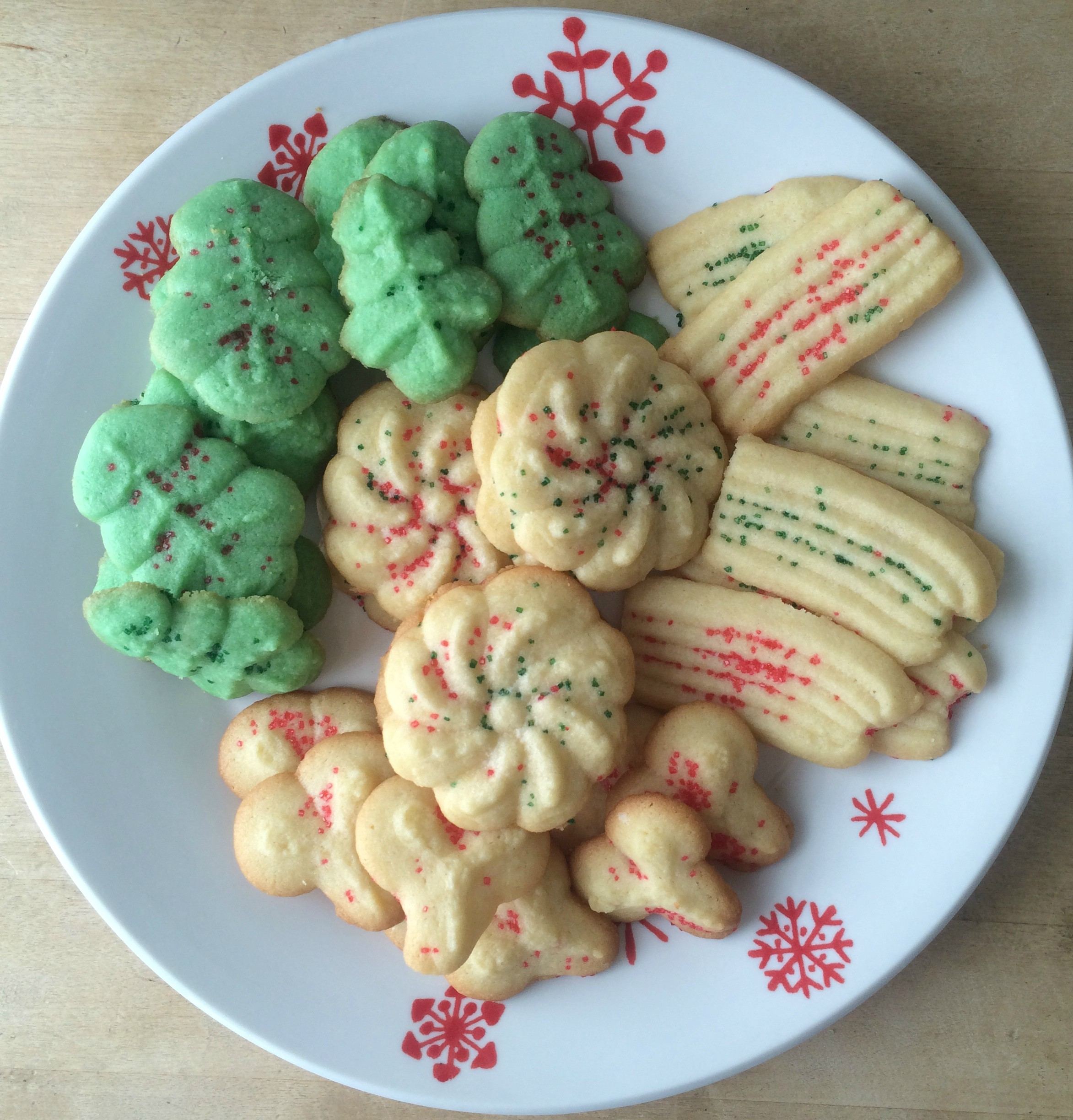 Classic Spritz Cookies – The Sisters Kitchen