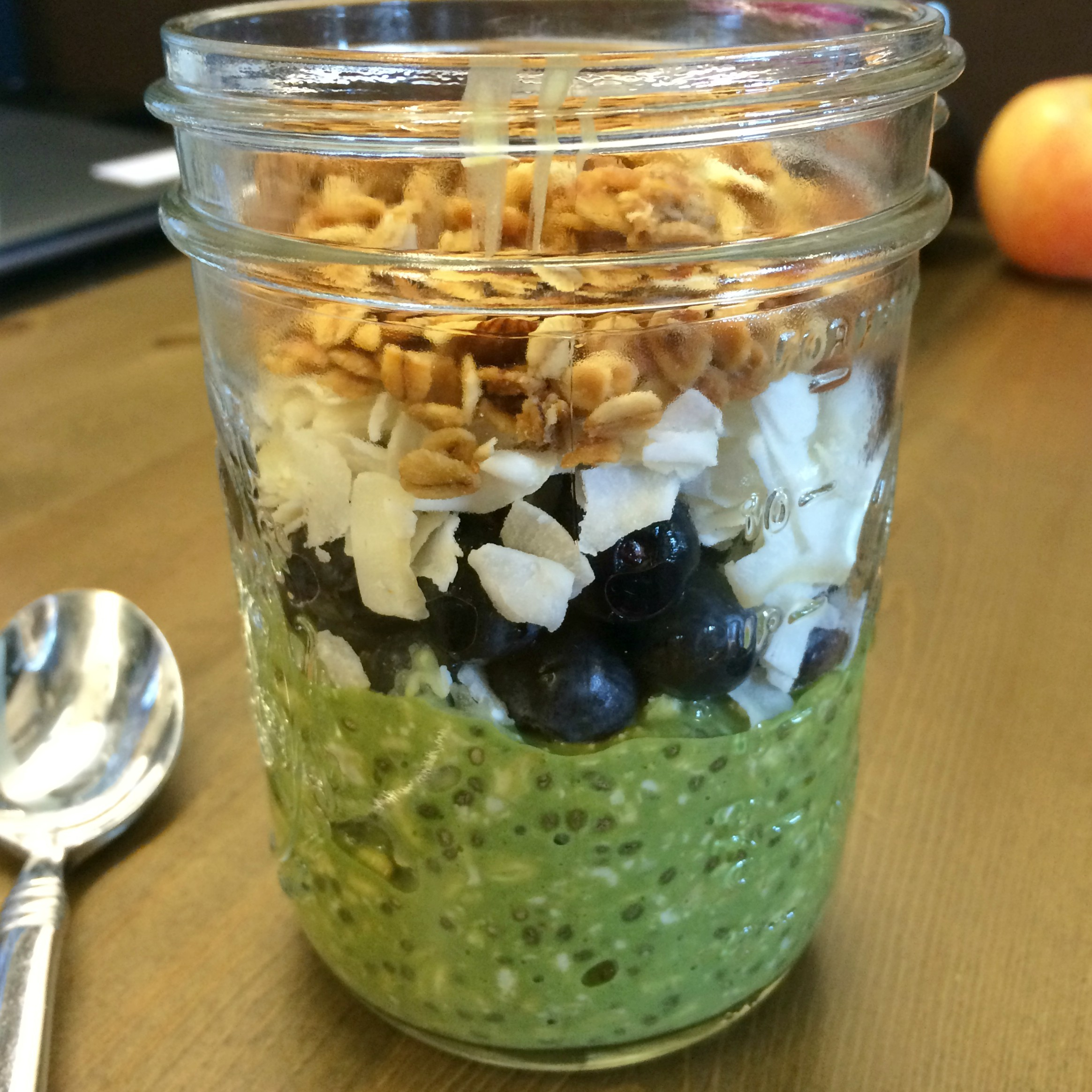Matcha Overnight Oats